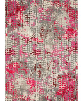 Crisanta Crs4 Pink 5' x 8' Area Rug