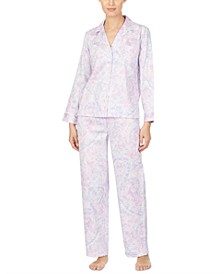 Cotton Woven Printed Pajamas Set