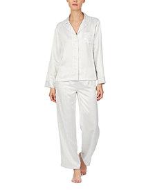 Lauren Ralph Lauren Satin Pajamas Set