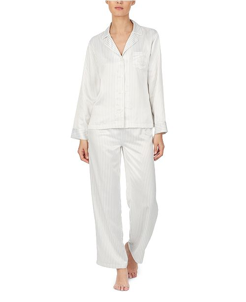 Lauren Ralph Lauren Satin Pajamas Set
