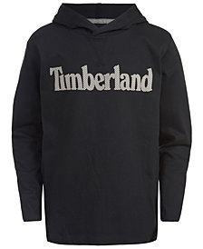 Timberland Big Boys Logo-Print Cotton Hoodie