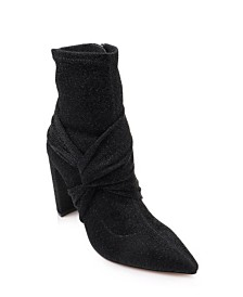 Jewel Badgley Mischka Romance Stretch Booties