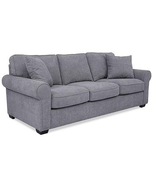 """Furniture Ladlow 90"""" Fabric Sofa"""