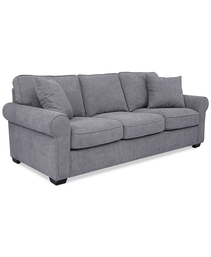 "Furniture - Ladlow 90"" Fabric Sofa"