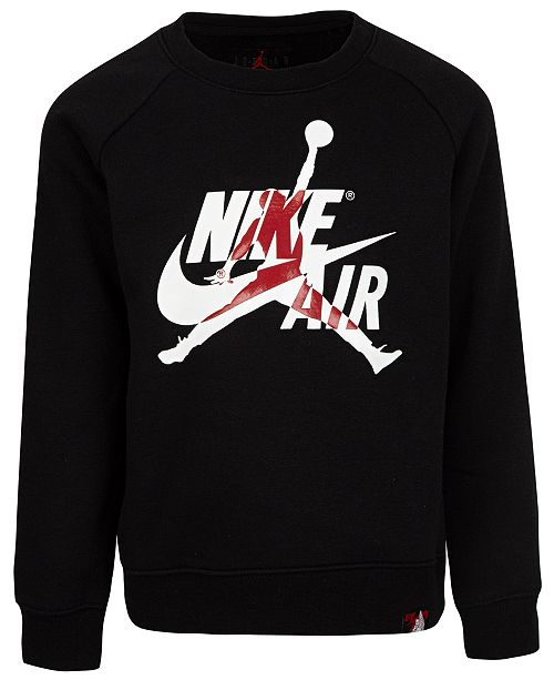 Jordan Toddler Boys Jumpman Classics Fleece Sweatshirt