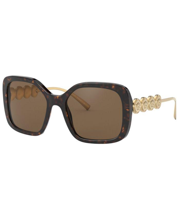 Versace Sunglasses, VE4375 53 & Reviews - Sunglasses by Sunglass Hut - Handbags & Accessories - Macy's