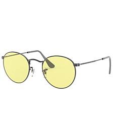 ROUND METAL Sunglasses, RB3447 53