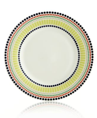 Dinnerware, Hopscotch Drive Dotted Accent Plate