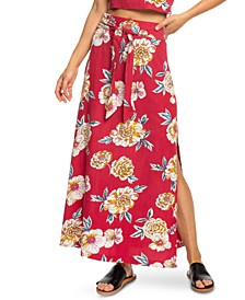 Juniors' Island Maxi Skirt