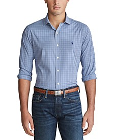 Men's Big & Tall Performance Twill Shirt