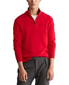 Polo Ralph Lauren Men's Wool-Cashmere Quarter-Zip Sweater
