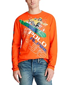 Polo Ralph Lauren Men's Classic Fit Cotton Graphic T-Shirt