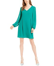 INC Tie-Back Shift Dress, Created for Macy's