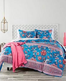 Wild Lotus Full/Queen Comforter Set