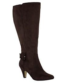 Troy II Wide Calf Tall Dress Boots