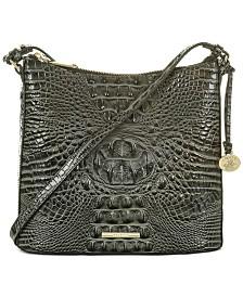 Brahmin Katie Melbourne Embossed Leather Crossbody