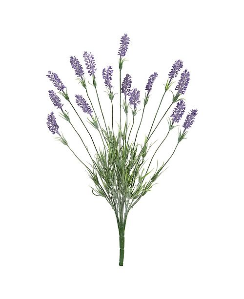 "Nearly Natural 24"" Lavender Artificial Flower, Set of 6"