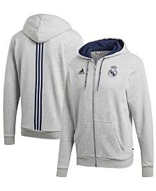 adidas Men's Real Madrid Club Team Full-Zip Hoodie