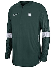 Men's Michigan State Spartans Lightweight Coaches Jacket