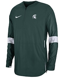 Nike Men's Michigan State Spartans Lightweight Coaches Jacket