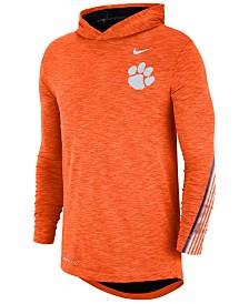 Nike Men's Clemson Tigers Hooded Sideline Long Sleeve T-Shirt
