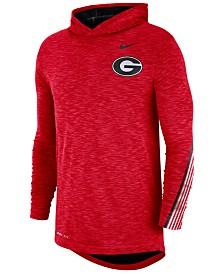 Nike Men's Georgia Bulldogs Hooded Sideline Long Sleeve T-Shirt