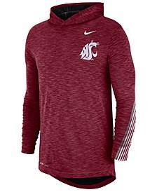 Men's Washington State Cougars Hooded Sideline Long Sleeve T-Shirt