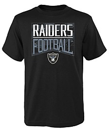 Outerstuff Big Boys Oakland Raiders Energy T-Shirt