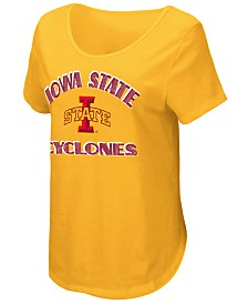 Colosseum Women's Iowa State Cyclones Maria Scoop Neck T-Shirt