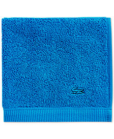 "Lacoste Ace Cotton 13"" x 13"" Wash Towel"