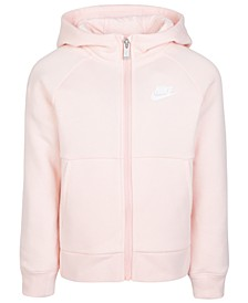 Toddler Girls Sportswear Zip-Up Hoodie