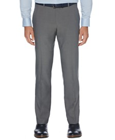 Perry Ellis Portfolio Men's Modern-Fit Performance Stretch Subtle Pattern Dress Pants