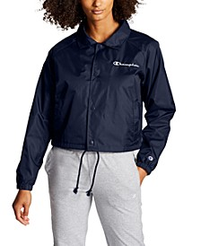 Women's Heritage Water-Repellent Cropped Coach's Jacket