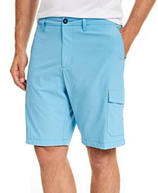 "Men's Cayman Isles Classic Fit IslandActive Performance Stretch 10"" Hybrid Cargo Shorts"