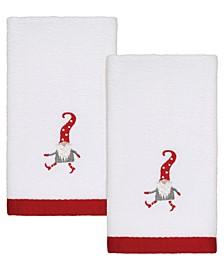Gnome Walk 2-Pc. Fingertip Towels
