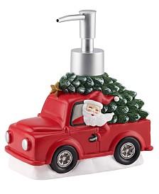 Mr. Christmas Truck/Santa Music Lotion Pump