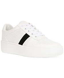 Steve Madden Women's Braden Lace-Up Sneakers