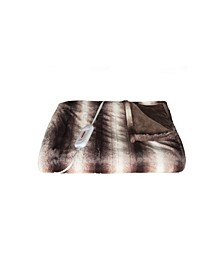"Faux Fur Electric Throw 50"" x 60"""