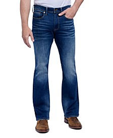 Seven7 Men's Jeans Slim Bootcut 5 Pocket Jean