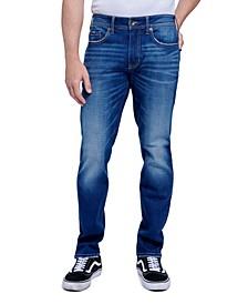 Men's Tapered Athletic Slim Fit Cut 5 Pocket Jean