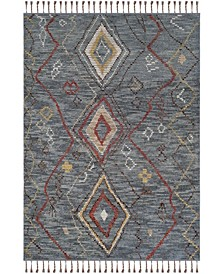 Nahla LRL7544A Denim Area Rug Collection