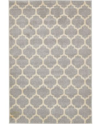 Arbor Arb1 Light Gray 8' x 11' Area Rug