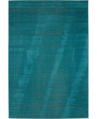 Axbridge Axb3 Teal 4' x 6' Area Rug