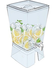 Stackable Juice and Water Beverage Dispenser