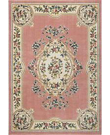 Nourison Juliette Jul01 Pink 5'3 x 7'3 Area Rug