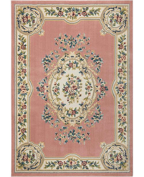 "Nourison Juliette Jul01 Pink 8'10"" x 11'10"" Area Rug"