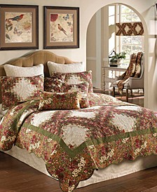 3 Piece Quilt Set- Queen