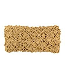 American Heritage Textiles Decorative Crochet Pillow