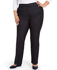 Plus Size Midnight Trouser Jeans, Created for Macy's