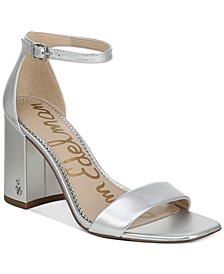 Women's Daniella Two-Piece Block-Heel Sandals